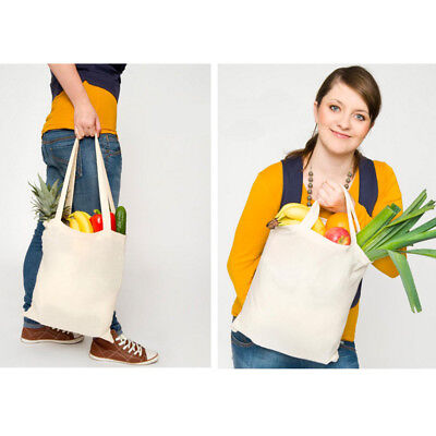 Baumwolle Damen Tasche (BASIC Baumwolltasche 38 x 42 cm Stofftaschen Tragetasche Taschen Beutel ÖKO-Tex®)