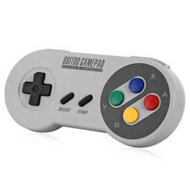 8Bitdo SFC30 Bluetooth Controller (like new)