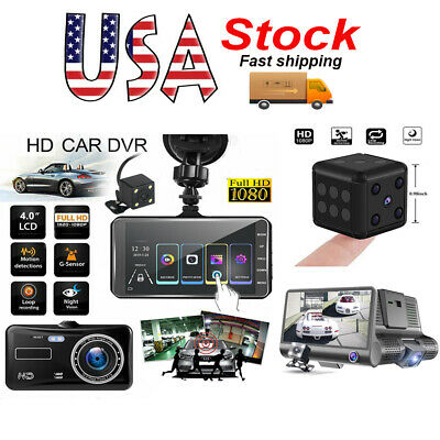 Car Vehicle Dash Cam DVR Auto Driving Recorder Home Security Video Camera