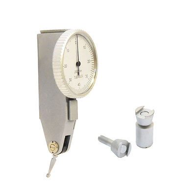 .008 Dial Test Indicator Graduation .0001 Jewel White Face Mechanictool Scale