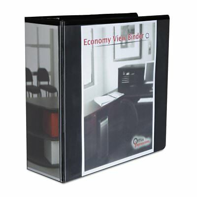 Office Impressions Economy D-ring Vinyl View Binder Two Inside Pockets 80995