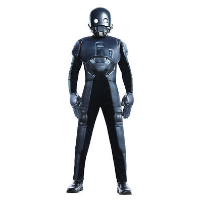 K-2SO Star Wars Rogue One Droid  Dress Up Halloween Kids Child Costume Large](Droid Costume)