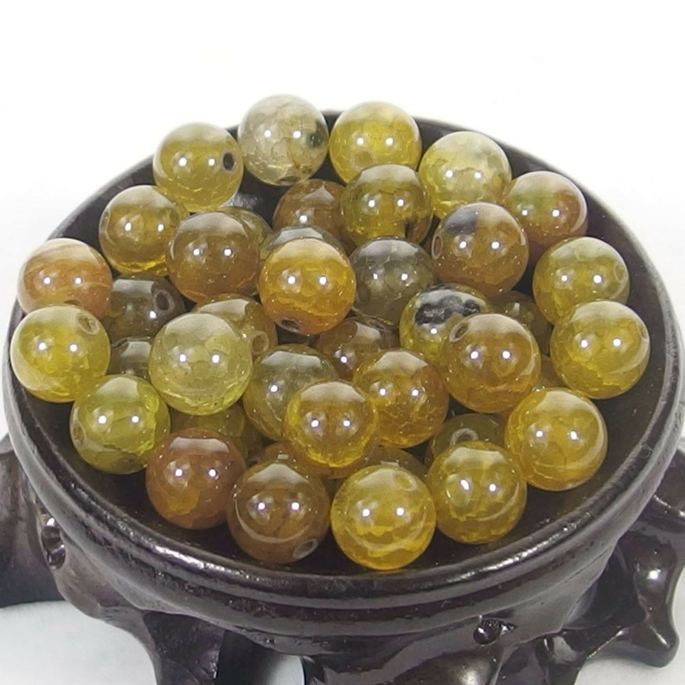 Bulk Gemstones I natural spacer stone beads 4mm 6mm 8mm 10mm 12mm jewelry design dragon vein agate