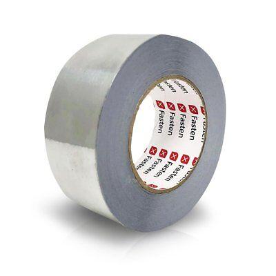 Xfasten Professional Aluminum Foil Tape 3.6 Mil 2 Inches X 55 Yards Hvac Tape