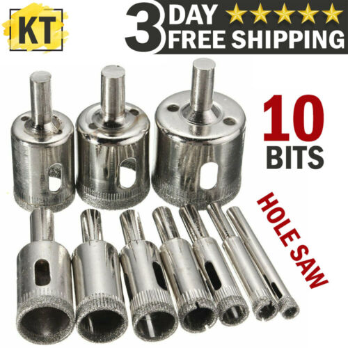 Diamond Glass Saw Cutter Drill Bits Set for Cutting Hole Ceramic Tile Hole Maker
