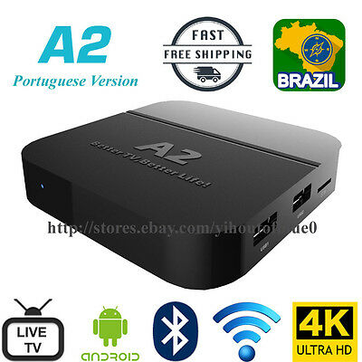 Portuguese Construct A2 TV Box Well as HTV5 Live Brazil TV/IPTV &Adult Movies