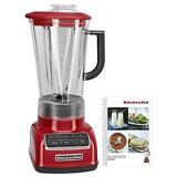 KitchenAid 5-Speed Blender Empire Red & Recipe Book