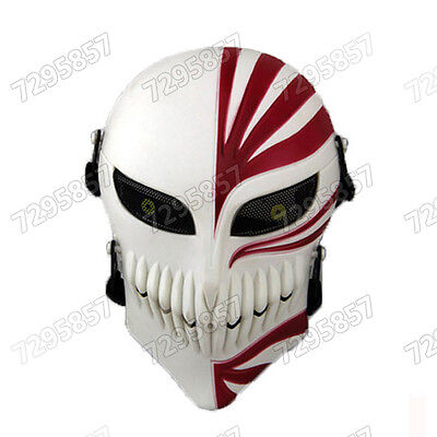 Bleach Ichigo Mask (Cosplay Mask Anime Bleach Ichigo Kurosaki Masquerade Halloween Party)