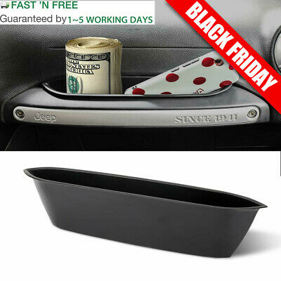 Passenger Grab Handle Storage Box Tray for Jeep JK Wrangler Unlimited Accessorie
