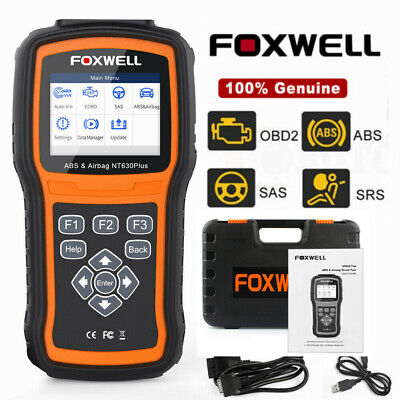 Foxwell NT630 Plus OBD2 Auto Code Reader ABS SAS Airbag Scanner Diagnostic Tool