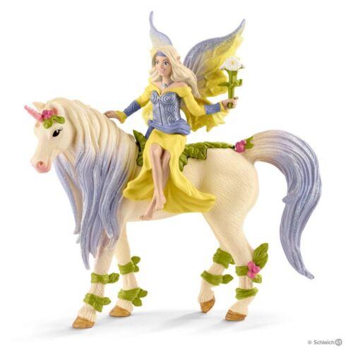 Schleich 70565 - Fairy Sera with Blossom Unicorn - Bayala - New