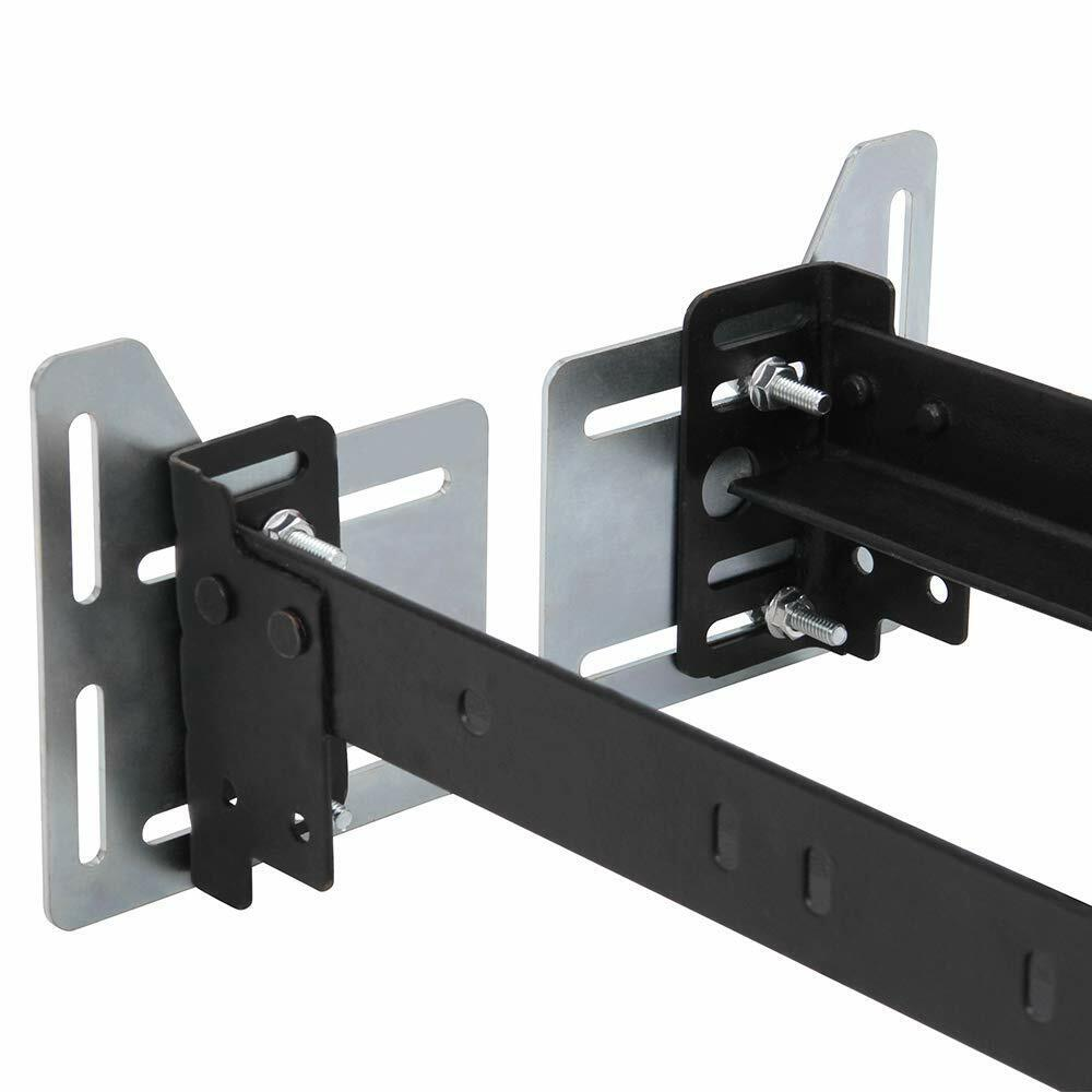 Headboard Extension Modification Brackets Adapter Plates – Set of 2 Bed & Waterbed Accessories