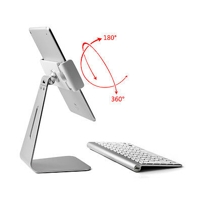 "Metal stand/mount for iPad Pro /ipad air/tablet 9-13""-360º turn/tilt"