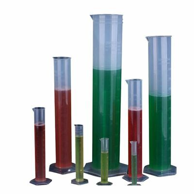 Chemistry Set Measuring Plastic Cylinder Graduated Lab Supplies Laboratory Tools