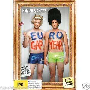 Hamish And Andy's EURO GAP YEAR = NEW SEALED R4 DVD