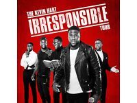 Kevin Hart: The Irresponsible Tour @ O2 London x 2 tickets - Front Row Seats
