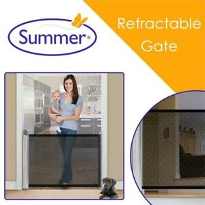 NEW Summer Infant 27253 Retractable Gate,Black, 1-Pack Condtion: New