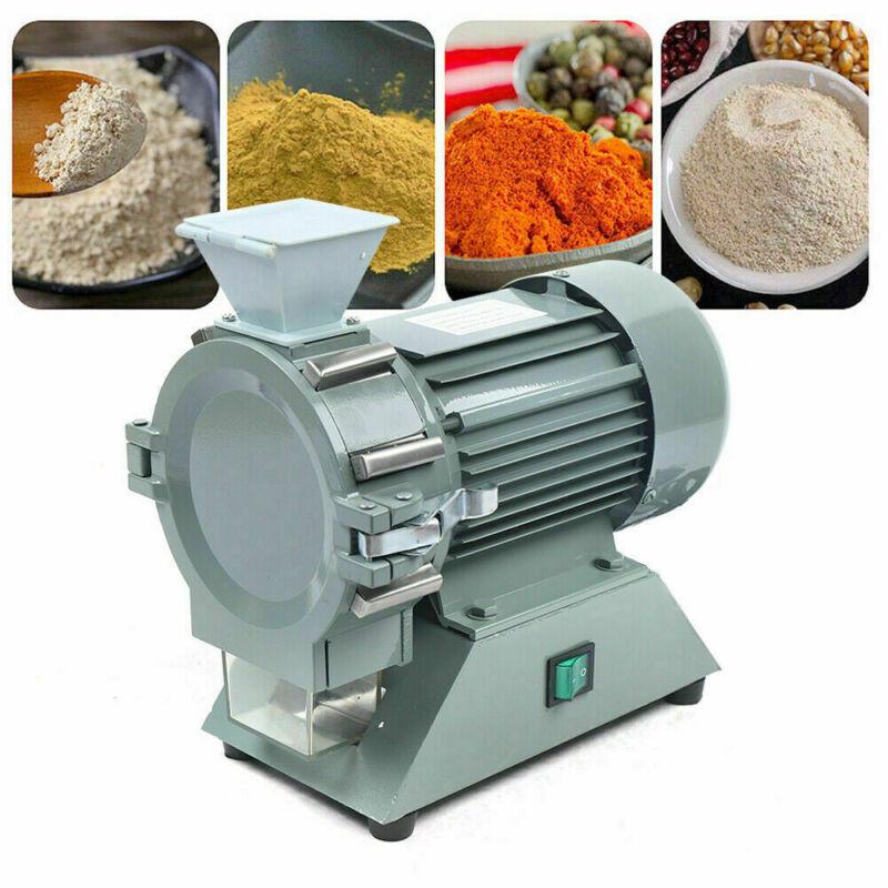 Micro Plant Grinder Soil Crusher Pulverizer Grinding Machine 110V 1400r/min US
