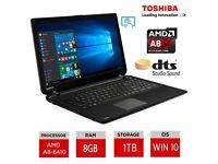 TOSHIBA Laptop! Bargain (TOUCH SCREEN)