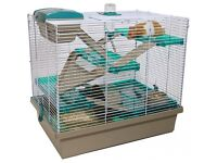 Rosewood Pico XL Translucent Teal Hamster Cage