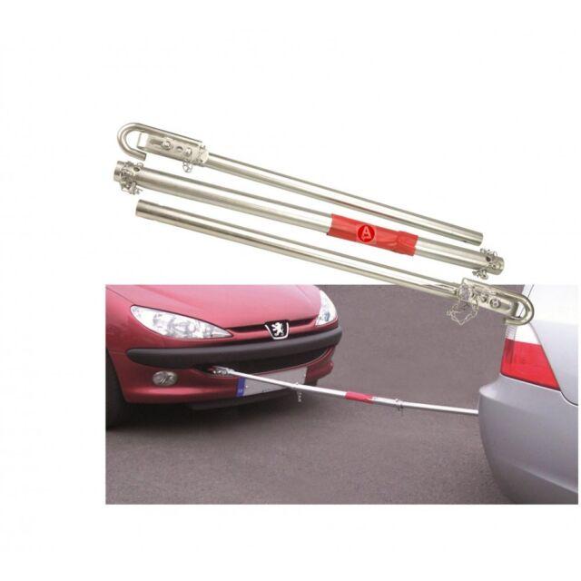 Tow Bar Pole Towing Car Van 1800kg 1.8 Ton Metal Secure Tonne Vehicle 633975
