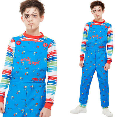 Kinder Teenager Chucky Kostüm Offiziell - Chucky Kinder Kostüm