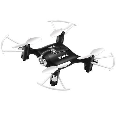 Syma X20 Pocket Drone 2.4G Mini RC Quadcopter Headless Mode Altitude Hold Black
