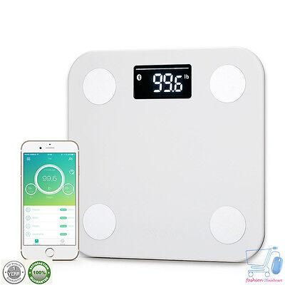 Yunmai Digital Smart Body Fat Scale Weight Monitor Bluetooth BMI Fitnessanalyzer