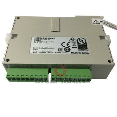 New In Box Delta Dvp06xa-s Plc Extension Module