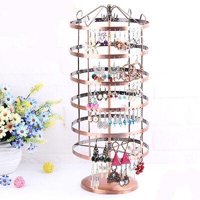 Fashion 288Hole Handmade Rack Iron Bronze Earring Jewelry Display Stand Hot Sale