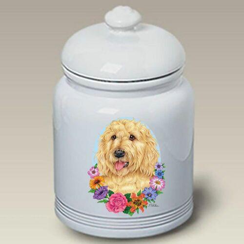 Labradoodle Ceramic Treat Jar TP 47272