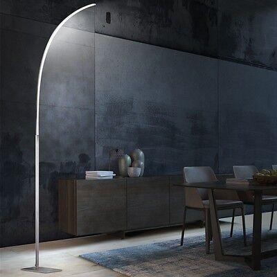 12,6 Watt LED Steh Leuchte Büro Lese Stand Design Lampe sparsam Wohn Ess Zimmer