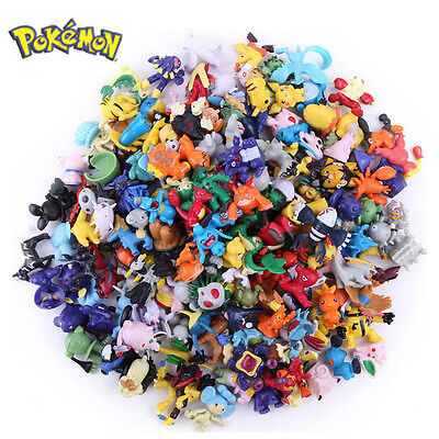 US SHIPPING 2 PCS Random Pokemon Monster Action Figure Multicolor Toys Gifts