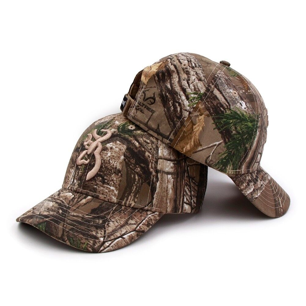 e9ce23ee4a Browning camo baseball cap fishing caps men outdoor hunting camouflage  tactical