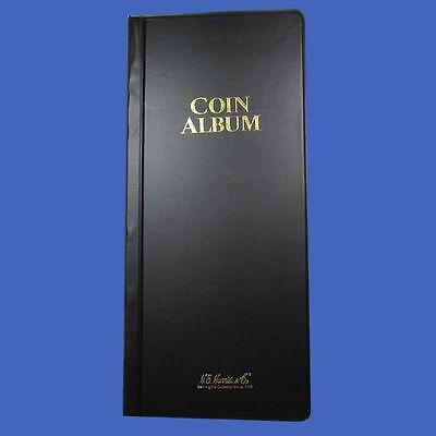 Harris 80 Pocket Coin Wallet Album Stock Book 2 x 2 Storage Free Shipping!