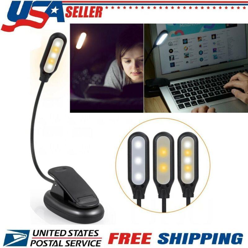 Night Light 5 LED Eye-Caring Table Lamp Desk Lamp with USB C