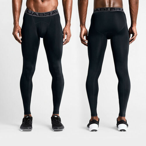Mens Compression Under Pants Fitness Jogging Sport Gym Tight Leggings Activewear