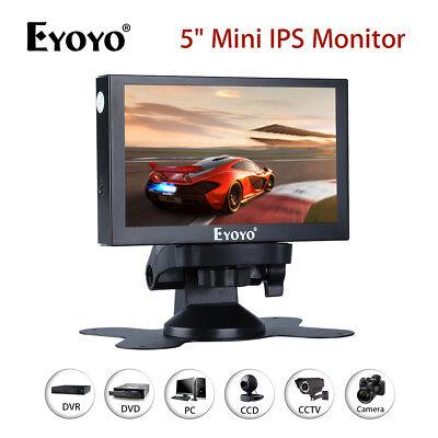 EYOYO 5 IPS MONITOR 800X480 VGA AV BNC HD YPBPR LAUTSPRECHER F R PC DVD KAMERA