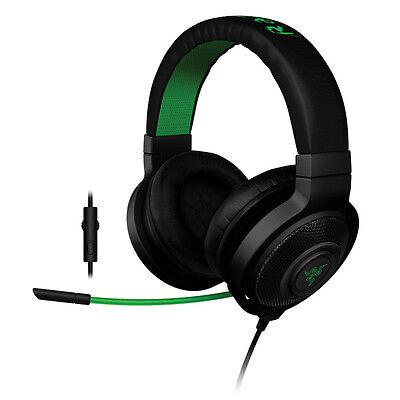 Razer Kraken Pro Analog Gaming Headset In-line Control for PC/PS4/Xbox Black
