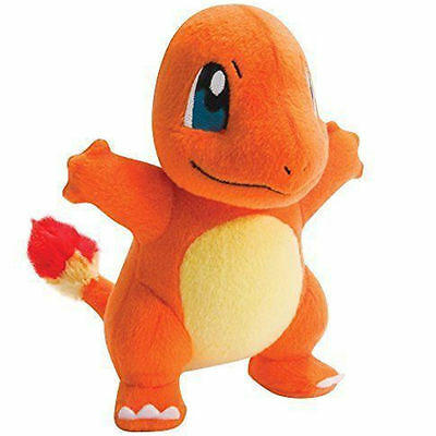Pokemon Toy Charmander Plush Doll Stuffed Animal Soft Collection 9Inch Gift
