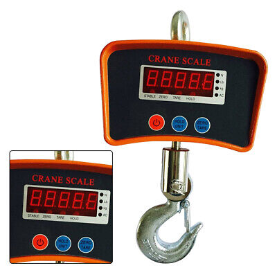 Electronic Hanging Scale Crane Scale 500kg 1100lbs Digital Industrial Heavy Duty