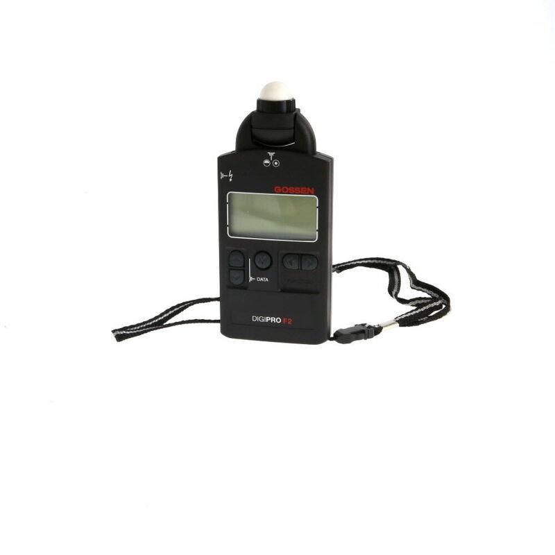Gossen Digipro F2 (Flash/Ambient) Light Meter WITH CASE EX