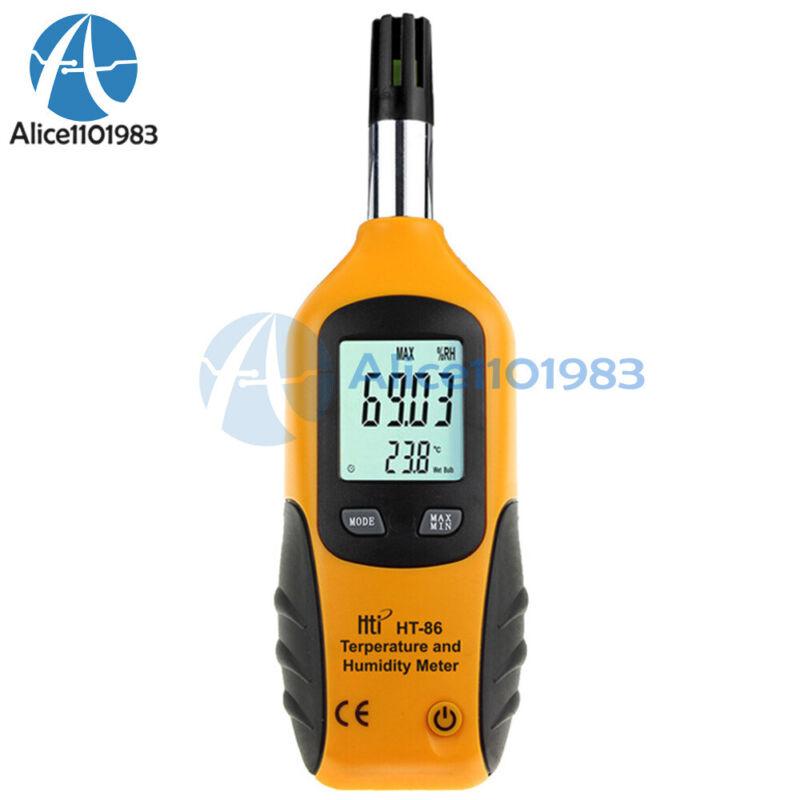 HT-86 Wet Bulb/Dew Point Digital Thermometer Hygrometer Meter 0.01%RH 0.01℃