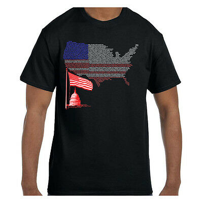 Tshirt We The People Capital Flag United States Map Patriotic