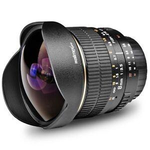 Walimex pro 3,5/8mm Fish-Eye für Sony E-Mount A6300 A6000 A5100 A5000 A3000 NEX