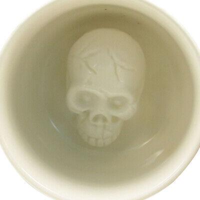 Creature Cups Skull Coffee Cup Mug Horror Halloween Skeleton Ceramic Mug - Halloween Skull Cups