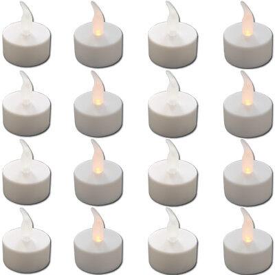 16 LED Teelicht Elektrische Flackernde Teelichter Flammenlose Kerzen