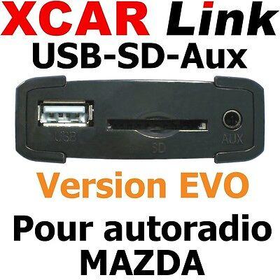 XCARLink USB-SD EVO MAZDA 2,3,5,6,MX-5,RX-8,CX-7,MPV