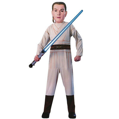CHILDS OBI WAN KENOBI COSTUME STAR WARS JEDI PADAWAN FANCY DRESS 5-7 - Star Wars Padawan Kostüm