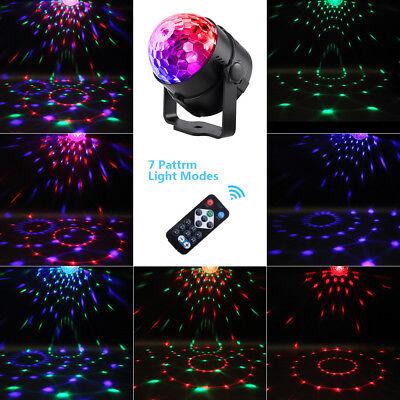 LED Bühnenlicht Kristallkugel Disco Xmas Club DJ Party (Sound Aktiviert Led-licht)